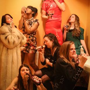 ManiPedi as the Seven Deadly Sins (Photo: E. Pitts)