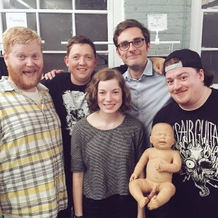 The Incredible Shrinking Matt & Jacquie w/Danny Tamberelli's sketch group, ManBoobs