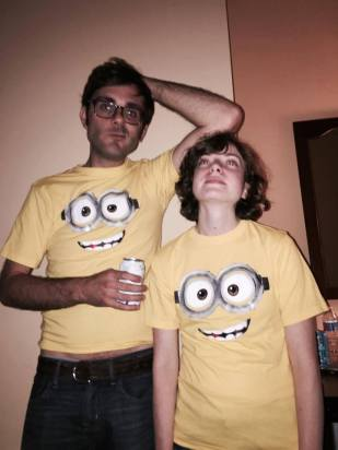 Minion Matt and Minion Jacquie. (Photo: N. Yates)