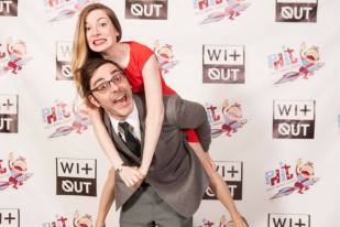 The Incredible Shrinking Matt & Jacquie @ the 2014 WitOut Awards (Photo: T. Lovelund)